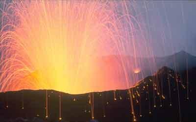 Erupção estromboliana