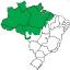 mapa Bioma Amazonia