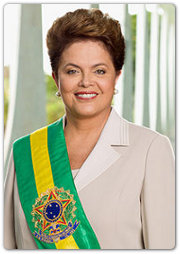 Presidente Dilma Roussef, Brasil