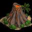 Ícone Vulcões