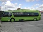 Ônibus utilizando biogás.  </br></br>  Palavras-chave: Meios de transporte. Biogás. Combustível. Meio ambiente. Consumo sustentável.
