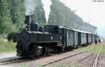 """Trem """"Maria Fumaça"""". Foram os primeiros trens usados como meios de transporte de passageiro e de cargas, era movido a carvão.  </br></br>  Palavras-chave: Trem. Ferrovia. Transporte. Produção agrícola. Meios de transportes. Cargas. Passageiros."""