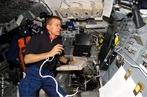 Interior de uma nave espacial.  </br></br>  Palavras-chave: Nave. Espacial. Espaço. Corrida espacial. URSS X EUA.