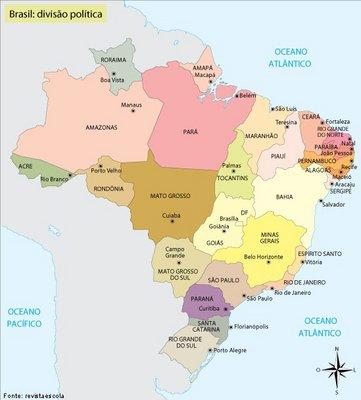 Brasil Politico Disciplina Geografia