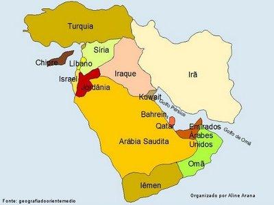 Oriente Mdio  Disciplina  Geografia