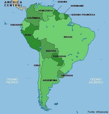 Amrica do Sul  Disciplina  Geografia