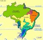 Mapa da Unesp, identificando os diversos tipos de vegeta��o presentes no Brasil. </br></br> Palavras-chave: Mapas. Unesp. Brasil. Vegeta��o