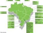 Localização das empresas de energia elétrica.</br></br>Palavras-chave: Dimensão Socioambiental. Território. Lugar. Região. Empresas de Energia Elétrica. Mapa. Economia. Brasil.