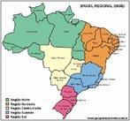 O Brasil est� dividido em cinco regi�es: Norte, Nordeste, Centro-Oeste, Sudeste e Sul.</br></br> Os estudos da Divis�o Regional do IBGE tiveram in�cio em 1941, sob a coordena��o do Prof. F�bio Macedo Soares Guimar�es. O objetivo principal de seu trabalho foi de sistematizar as v�rias &quot;divis�es regionais&quot; que vinham sendo propostas, de forma que fosse organizada uma �nica Divis�o Regional do Brasil para a divulga��o das estat�sticas brasileiras.</br></br> A Divis�o Regional do Brasil em mesorregi�es, partindo de determina��es mais amplas em n�vel conjuntural, buscou identificar �reas individualizadas em cada uma das Unidades Federadas, tomadas como universo de an�lise e definiu as mesorregi�es com base nas seguintes dimens�es: o processo social como determinante, o quadro natural como condicionante e a rede de comunica��o e de lugares como elemento da articula��o espacial.</br></br> Aplicabilidade: elabora��o de pol�ticas p�blicas; subsidiar o sistema de decis�es quanto � localiza��o de atividades econ�micas, sociais e tribut�rias; subsidiar o planejamento, estudos e identifica��o das estruturas espaciais de regi�es metropolitanas e outras formas de aglomera��es urbanas e rurais.</br></br>Palavras-chave: Dimens�o Pol�tica do Espa�o Geogr�fico. Territ�rio. Lugar. Pa�s. Mapa. Regi�es.