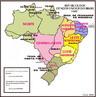 Em 1936 foi criado o Instituto Brasileiro de Geografia e Estat�stica (IBGE), quando inicia-se uma campanha para adotar uma divis�o regional oficial para o Brasil. </br></br> Ap�s fazer estudos e analisar diferentes propostas, o IBGE sugeriu que fosse adotada a divis�o feita em 1913 com algumas mudan�as nos nomes das regi�es. A escolha foi aceita pelo presidente da Rep�blica e adotada em 1942, logo ela seria alterada com a cria��o de novos Territ�rios Federais. Em 1942, o arquip�lago de Fernando de Noronha foi transformado em territ�rio e inclu�do na regi�o Nordeste. Em 1943 foram fundados os territ�rios de Guapor�, Rio Branco e Amap� -- todos parte da regi�o Norte --, o territ�rio de Igua�u foi anexado � regi�o Sul e o de Ponta Por�, colocado na regi�o Centro-Oeste. A divis�o em grandes regi�es tinha de acompanhar as transforma��es que estavam ocorrendo na divis�o em estados e territ�rios do pa�s.</br></br>Na regi�o Norte, estavam os estados do Amazonas e Par�, os territ�rios do Acre, Amap�, Rio Branco e Guapor�. A regi�o Nordeste foi dividida em ocidental e oriental. No Nordeste ocidental, encontravam-se Maranh�o e Piau�. No oriental, Cear�, Rio Grande do Norte, Para�ba, Pernambuco e Alagoas, al�m do territ�rio de Fernando de Noronha. Ainda n�o existia a regi�o Sudeste, mas uma regi�o chamada Leste, dividida em setentrional e meridional. Sergipe e Bahia estavam na parte setentrional. Na meridional, ficavam Minas Gerais, Esp�rito Santo e Rio de Janeiro (na �poca, sede do Distrito Federal). A regi�o Sul inclu�a os estados de S�o Paulo, Santa Catarina, Paran� e Rio Grande do Sul, al�m do territ�rio de Igua�u. E, na regi�o Centro-Oeste, os estados de Mato Grosso e Goi�s e o territ�rio de Ponta Por�. </br></br>Palavras-chave: Brasil. Regi�o. Regionaliza��o. IBGE. Administra��o. Desenvolvimento. Pol�ticas P�blicas.
