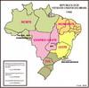 Em 1960, Bras�lia foi constru�da e o Distrito Federal foi transferido para o Centro-Oeste.  Na regi�o Leste, o antigo Distrito Federal tornou-se o estado da Guanabara.</br></br>Palavras-chave: Brasil. Regi�o. Regionaliza��o. IBGE. Administra��o. Desenvolvimento. Pol�ticas P�blicas. Bras�lia.