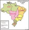 Em 1969, uma nova divis�o regional foi proposta. Na regi�o Norte ficaram os estados do Acre, Amazonas e Par�; Territ�rios de Rond�nia, Roraima e Amap�. Na regi�o Nordeste, os estados de Maranh�o, Piau�, Cear�, Rio Grande do Norte, Para�ba, Pernambuco, Alagoas, Sergipe e Bahia, e o Territ�rio de Fernando de Noronha. A regi�o Leste foi substitu�da pela regi�o Sudeste, formada por Minas Gerais, Esp�rito Santo, Rio de Janeiro, estado da Guanabara e S�o Paulo. Na regi�o Sul, localizavam-se Paran�, Santa Catarina e Rio Grande do Sul. Na regi�o Centro-Oeste, Goi�s, Mato Grosso e Distrito Federal. </br></br>Palavras-chave: Brasil. Regi�o. Regionaliza��o. IBGE. Administra��o. Desenvolvimento. Pol�ticas P�blicas.