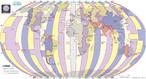 A esfera terrestre � geograficamente dividida em 360� formando meridianos que se encontram nos p�los. Os fusos hor�rios s�o formados dividindo-se esses 360� pelas 24 horas do dia. O resultado s�o 24 fusos hor�rios de 15� cada. </br></br> Antes do final do s�culo 19 cada pa�s ou cidade tinha sua pr�pria refer�ncia de tempo com base na passagem do Sol. Acordos internacionais resultaram na ado��o do meridiano que cruza o Observat�rio de Greenwich, na Grande Londres, como o marco zero de refer�ncia para os fusos hor�rios. </br></br> As horas aumentam para leste e diminuem para oeste, devido ao movimento do Sol.</br></br>Palavras-chave: Fusos Hor�rios. Mundo. Meridiano de Greenwich. Linha Internacional de Mudan�a de Data. Meridianos. Dia. Acordos internacionais. Refer�ncia de tempo.