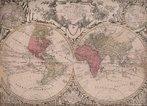 Este mapa-m�ndi latino do final do s�culo XVIII de Tobias Lotter, editor de mapas de Augsburg, (1717-77) � baseado em um antigo mapa do cart�grafo franc�s Guillaume de l'Isle (1675-1726). De l'Isle estava no grupo de cart�grafos franceses que suplantou a supremacia dos holandeses na elabora��o de mapas no final do s�culo XVII. Ele era especializado em hist�ria e geografia, bem como nas �reas de matem�tica e astronomia. Foi bastante influenciado por cart�grafos �rabes e persas cl�ssicos, al�m de escritores de viagem, e insistia na precis�o cient�fica em seus projetos. O mapa utiliza tinturas coloridas e bordas para demarcar as divisas entre os continentes, como as fronteiras bem-definidas entre a Europa, �sia, e o destaque na �frica. Al�m de mapear o territ�rio, o mapa de l'Isle apresenta viagens de explora��o atrav�s dos oceanos Pac�fico e �ndico.</br></br>Palavras-chave: Mapas. Mapa-m�ndi. Cartografia. Hist�ria. Geografia. Astronomia. Continentes.
