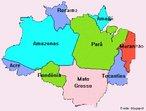 � uma �rea que engloba nove Estados brasileiros pertencentes � Bacia Amaz�nica e, consequentemente, possuem em seu territ�rio trechos da Floresta Amaz�nica. A atual �rea de abrang�ncia da Amaz�nia Legal corresponde � totalidade dos estados do Acre, Amap�, Amazonas, Mato Grosso, Par�, Rond�nia, Roraima e Tocantins e parte do estado do Maranh�o. </br></br> Palavras-chave: Amaz�nia Legal. territ�rio. Floresta. Meio Ambiente. Biodiversidade.