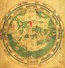 Nesse mapa, elaborado em 1448, quase dois s�culos depois do mapa TO , Jerusal�m permanece no centro do mundo. Nessa �poca foram realizadas as primeiras viagens em busca de novas terras e de um novo caminho para o Oriente. </br></br> Palavras-chave: Cartografia. Idade M�dia. Mapa-m�ndi. Geografia. Mapas. Jerusal�m. Oriente. Ocidente.