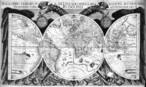 Influenciado pela Astronomia e de posse de conheciemnto matem�tico, Kepler elabora um mapa-m�ndi em 1619. </br></br> Palavras-chave: Astronomia. Matem�tica. Geografia. Mapas. Kepler. Cartografia.
