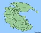 Pang�ia foi o nome dado ao continente que, segundo a teoria da Deriva continental, existiu at� 200 milh�es de anos, durante a era Mesoz�ica. A palavra origina-se do fato de todos os continentes estarem juntos (Pan) formando um �nico bloco de terra (Geia). Por outro lado, estudando-se a mitologia grega, encontramos: Pan, como o deus que simbolizava a alegria de viver, e Geia, Gaia ou Ge como a deusa que personificava a terra com todos os seus elementos naturais. </br></br> Palavras-chave: Pangeia. Supercontinente. Placas Tect�nicas.