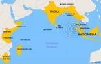 Terremoto no �ndico de 2004 disparou uma sequ�ncia de tsunamis fatais em 26 de Dezembro de 2004, com v�timas fatais relatadas em mais de 285.000. </br></br> Palavras-chave: Tsunami. Mortes. Abalos S�smicos. Turismo. Economia. Pol�tica. Destrui��o. Terremoto. �sia. Oceano �ndico. Movimento das P lacas Tect�nicas.