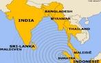 Um tsunami � uma onda ou uma s�rie delas que ocorrem ap�s perturba��es abruptas que deslocam verticalmente a coluna de �gua. </br></br> Palavras-chave: Tsunami. Mapa. Localiza��o. Mortes. Destrui��o. Terremotos. Abalos S�smicos. Pa�ses.
