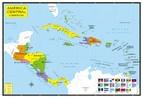 A Am�rica Central � um istmo que une a Am�rica do Sul e a Am�rica do Norte. Limita-se a oeste com o Oceano Pac�fico, a leste com o Oceano Atl�ntico, a Norte com a Am�rica do Norte na fronteira da Guatemala com o M�xico, e a Sul com a Am�rica do Sul na fronteira do Panam� com a Col�mbia.</br></br>Economicamente a Am�rica Central n�o se destaca muito, tendo a agricultura como base de sua economia. Outras atividades incluem a extra��o de madeiras de lei e a ca�a.</br></br> Palavras-chave: Am�rica Central. Istmo. Pa�s. Territ�rio. Subdesenvolvimento. Terremotos.