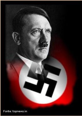"""Adolf Hitler era filho de Alois Hitler e Klara Poelz, nasceu em 1889, na Áustria. Hitler associou-se em um pequeno grupo nacionalista, o Partido dos Trabalhadores Alemães, que mais tarde virou o Partido Nacional-Socialista Alemão (Nazista). Em 1921, tornou-se líder dos nazistas e, dois anos mais tarde organizou uma revolta que falhou, o """"putsch de Munique"""". Hitler achava que judeus, gays, negros, ciganos e outras minorias, além das pessoas que não apoiavam o nazismo, não tinham mais o direito de viver, deveriam morrer. Em 1933 Hitler foi convidado pelo presidente Hindenburg a assumir o governo alemão e, com a morte de Hindenburg, Hitler assume o cargo de presidente da Alemanha. Os nazistas chegavam ao poder. Hitler foi um dos principais líderes militares que o mundo já viu. Hitler provocou a Segunda Guerra Mundial com o ataque dos Nazistas à Polônia. Com o início da Segunda Guerra, Hitler obteve grandes vitórias que pareciam lhe garantir o controle de um amplo território. </br></br> Palavras-chave: Adolf Hitler. Nazismo. Alemanha. Führer. Segunda Guerra Mundial."""