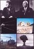 De cima para baixo e da esquerda para a direita: Presidente americano John F. Kennedy e secretário geral do Partido Comunista da União Soviética Nikita Khrushchev em Viena, Áustria; Sputnik I em órbita; soldados alemães patrulhando o Muro de Berlim; soldados americanos pousando em solo vietnamita; teste da primeira bomba nuclear soviética. </br></br> Palavras-chave: Guerra Fria. Bomba Nuclear. URSS. Presidente. John Kennnedy. Estados Unidos. Muro de Berlim. Corrida Armamentista. Corrida Espacial.