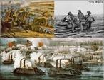 Guerra Civil Americana (também conhecida em português como Guerra de Secessão) ocorreu nos Estados Unidos da América entre 1861 e 1865. </br></br> Palavras-chave: Guerra. Americana. Estados Unidos. Guerra de Secessão.