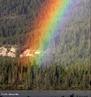 Um arco-íris (também chamado arco-celeste, arco-da-aliança, arco-da-chuva ou arco-da-velha) é um fenômeno óptico e meteorológico que separa a luz do sol em seu espectro (aproximadamente) contínuo quando o sol brilha sobre gotas de chuva. </br></br> Palavras-chave: Metereorológico. Brilho. Natureza. Arco-da-velha. Gotas de Chuva.