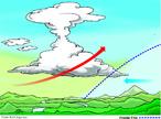 Quando uma massa de ar frio se encontra com uma massa de ar quente, ocorrem a condensa��o e a precipita��o (o mesmo que a chuva). Esse tipo de chuva geralmente acontece ap�s um dia muito abafado, quente e sem ventos, porque a massa de ar frio est� pressionando a massa de ar quente que se encontra sobre a regi�o. Por isso � chamada de frente fria. Quando a massa de ar quente come�a a perder a resist�ncia, fortes rajadas de ventos indicam que a frente fria est� &quot;entrando&quot;. Ocorre, ent�o, a condensa��o da umidade do ar, e fortes temporais se formam. </br></br> Palavras-chave: Chuva Frontal. Frente Fria. Massas de Ar. Temperatura. Clima. Agricultura.