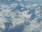 Vista da Cordilheira dos Andes, no Chile. </br></br> Palavras-chave: Cordilheira dos Andes. Chile. Tectonismo. Pa�ses Andinos. Relevo. Montanha.