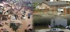 O primeiro ciclone tropical de que se tem notícia no sul do Oceano Atlântico foi denominado Catarina. Em 27 e 28 de março de 2004 a população do sul do Estado de Santa Catarina e a população do nordeste do Estado do Rio Grande do Sul, ambos no Brasil, foram alertadas para o fato de que se aproximava um ciclone. A imagem mostra como ficaram alguns locais do estado de Santa Catarina após a passagem do furacão.  </br></br> Palavras-chave: Furacão Catarina. Destruição. Mortes. Santa Catarina. Rio Grande do Sul. Clima. Tempo.
